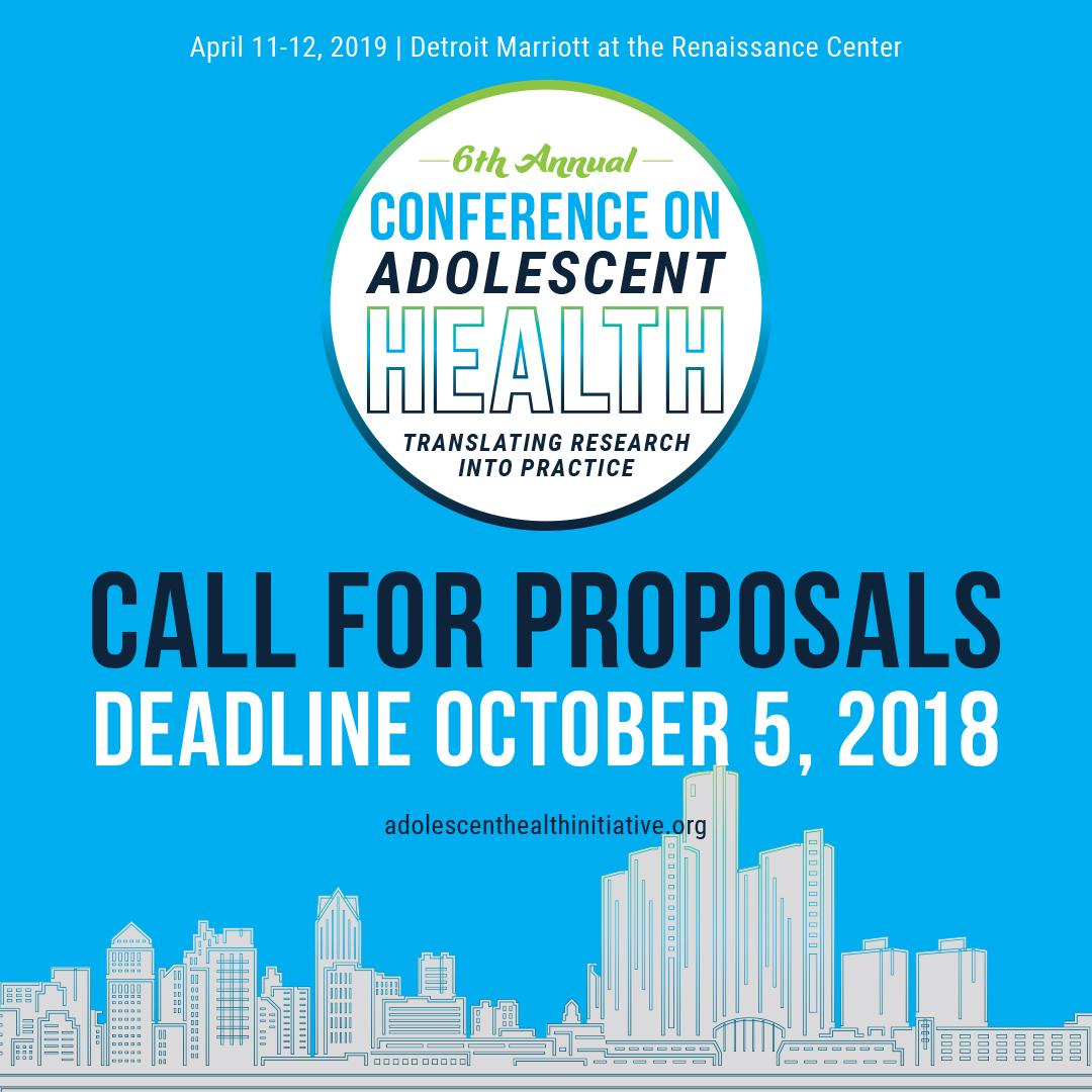 Annual Conference - Adolescent Health Initiative